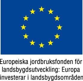 Logotype Europeiska jordbruksfonden för landsbygdsutveckling