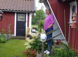 Ingalill hemma i Örsås